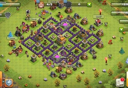 #1433 Farming Base Layout for TH7, Diseño Farming Ayuntamiento 7