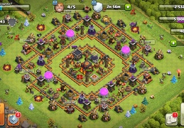 #1451 Trophy and Farming Base Layout TH10, Diseño Farming Ayuntamiento 10