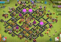 #1501 Trophy Base Layout for TH8, Subida de Copas Ayuntamiento 8