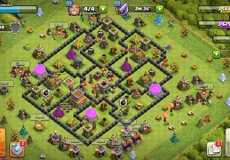 #1502 War Base Layout for TH8, Diseño de Guerra Ayuntamiento 8