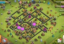 #1503 War Base Layout for TH8, Diseño de Guerra Ayuntamiento 8