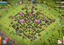 #1506 War Base Layout TH8, Diseño Guerra Ayuntamiento 8