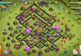 #1508 Hybrid Base War and Trophy TH8, Híbrido Subida de Copas y Guerra