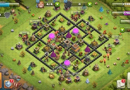 #1510 War and Trophy Base Layout TH8, Subida de Copas y Guerra Ayuntamirnto 8
