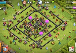 #1512 Farming and War Base Layout TH8, Farming y Guerra