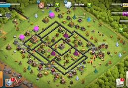 #1513 War Base Layout for TH8, Diseño de Guerra Ayuntamiento 8