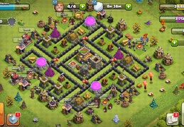 #1517 Farming and Trophy Base for TH8, Subida de Copas y Guerra
