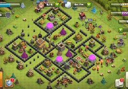 #1520 Island War & Trophy Base Layout TH8, Diseño de Guerra Ayuntamiento 8