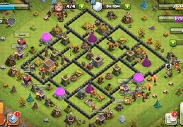 #1521 War Base Layout for TH8, Diseño de Guerra Ayuntamiento 8