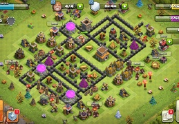 #1522 Trophy Rectangular Base Layout TH8, Diseño Subida de Copas