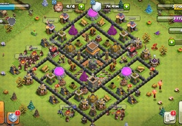 #1525 Farming Base Layout RG8, Proteger Elixir Oscuro