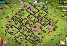 #1528 Trophy and War Base Layout TH8, Subida de Copas y Guerra