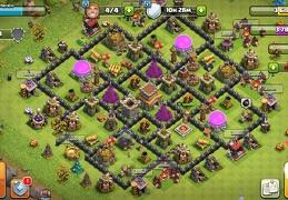 #1540 War and Trophy Base TH8, Subida de Copas y Guerra