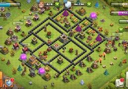 #1550 War Base Layout TH8, Diseño Guerra Ayuntamiento 8