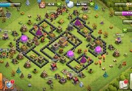 #1552 War and Trophy Base TH8, Subida de Copas y Guerra