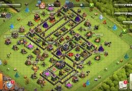 #1568 CWL War Base Layout TH9, Diseño de Guerra Ayuntamiento 9