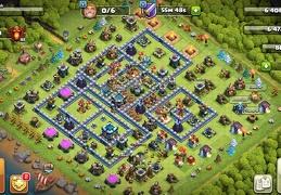 #1604 War Base Layout TH13 CWL, Diseño de Guerra Ayuntamiento 13