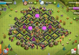 #1605 Trophy & Farming Base for TH8, Subida de Copas y Proteger Recursos