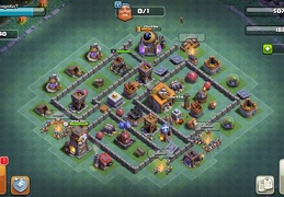 #1651 Base Layout for Builder Base 6, BH6 Taller Nivel 6