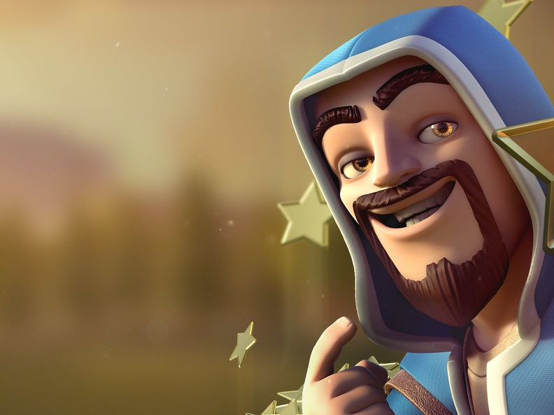 Wizard Star, Mago y Estrellas Clash of Clans