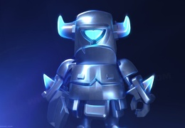Mini P.E.K.K.A, Clash Royale Wallpaper, Imágen del Mini PEKKA