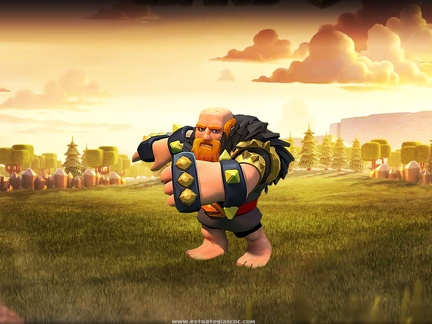 Gigante Nivel 8, Clash of Clans Background