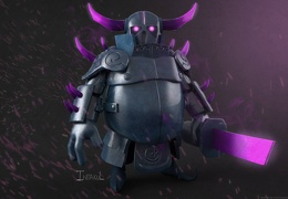 Arte P.E.K.K.A Clash of Clans