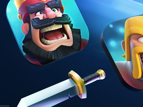 Iconos de Juegos, Clash Royale vs Clash of Clans