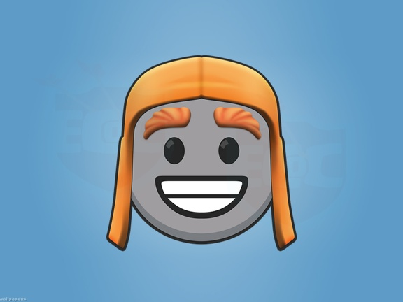 Cara del Constructor, Icono en Caricatura, Cartoon Clash Of Clans