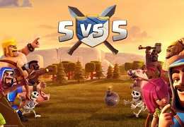 5 vs 5, Clash of Clans, Clanes Versus