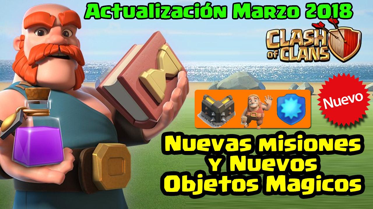 Tendremos Nuevas Cosas En Los Juegos De Clanes Actualizacion Marzo